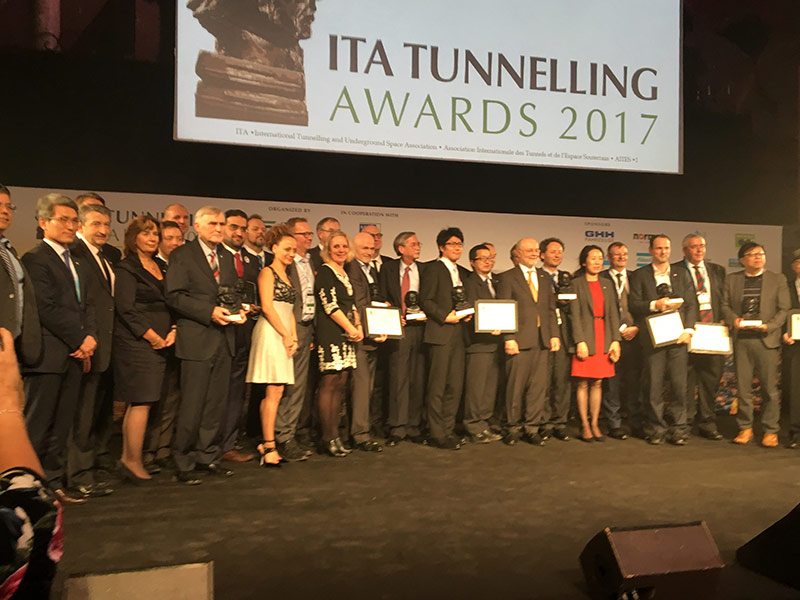 IT Tunnelling Awards 2017 Winners